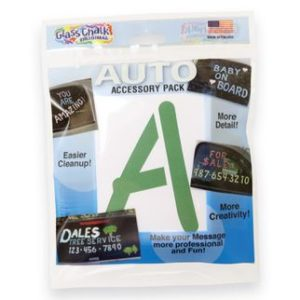 GlassChalk Stencil Auto Accessory Pack