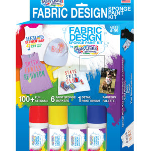 Glass Chalk Fabric Design Kit